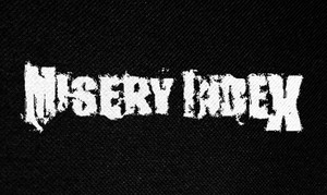 "Misery Index Logo 5x3"" Printed Patch"