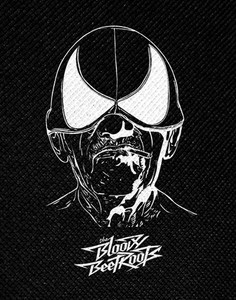 "The Bloody Beetroots Mask 5x3.5"" Printed Patch"