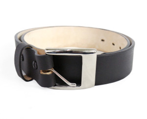 Formal Wear Black Leather Belt