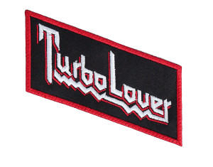 "Judas Priest - Turbo Lover 4.5x2"" Embroidered Patch"