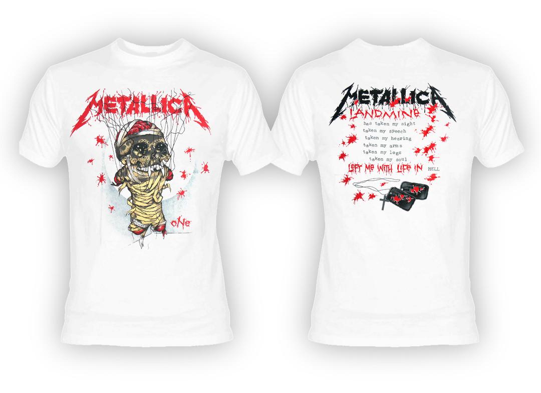 metallica one t shirt
