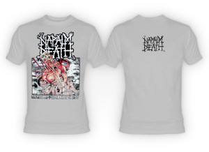 Napalm Death - Mass Appeal Madness Gray T-Shirt