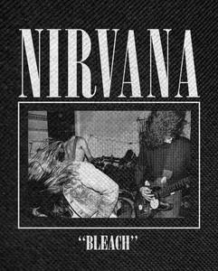 "Nirvana - Bleach Backpatch 12x14"""
