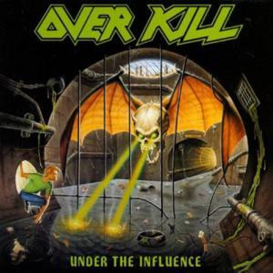"Overkill - Under The Influence 4x4"" Color Patch"