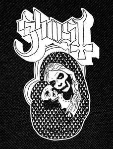 "Ghost Skelleton Mother 3.5x5"" Printed Patch"