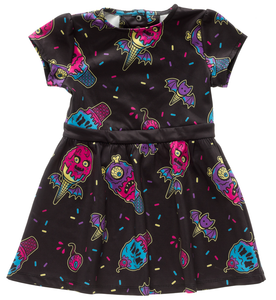 Sourpuss - Kid's Ice Creep Cones Dress