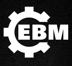"EBM Cog Logo 4.5x3.8"" Printed Patch"