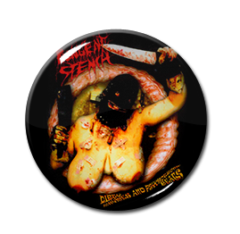 "Pungent Stench - Dirty Rhymes and Psychotic Beats 1.5"" Pin"