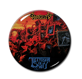 "Gorguts - The Erosion of Sanity 1.5"" Pin"