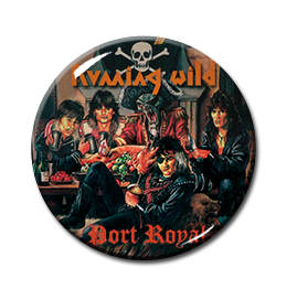 "Running Wild - Port Royal 1.5"" Pin"