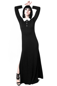 Killstar - Cementery Lane Maxi Dress