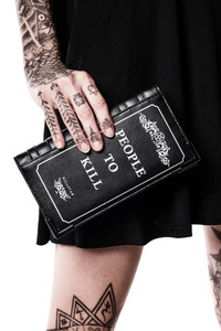 Kill List Book Wallet