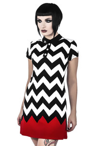 Killstar - Red Room Skater Dress