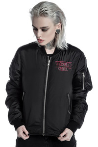 Killstar - Weird Girl MA1 Bomber Jacket
