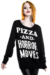 Killstar - Horror Stayin In Knit Sweater