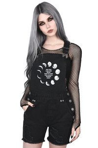Killstar - Many Moons Denim Overalls