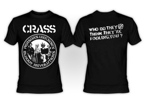 Crass Persons Unknown T-Shirt
