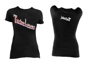 Judas Priest Turbo Lover Girls T-Shirt