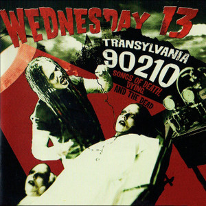 "Wednesday 13 - Transylvania 90210 4x4"" Color Patch"