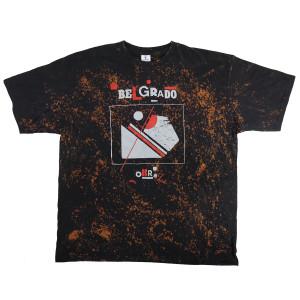 Belgrado - Obraz T-Shirt Size XXL Tie Dye