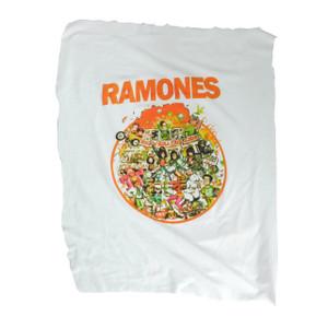 Ramones - Rock n Roll High School Backpatch Misprinted/Crooked