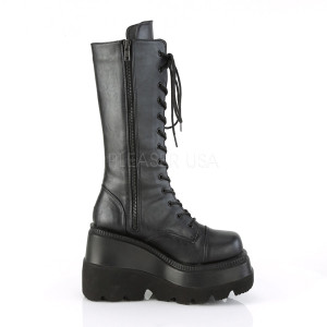 Calf high Vegan Boots with Platform