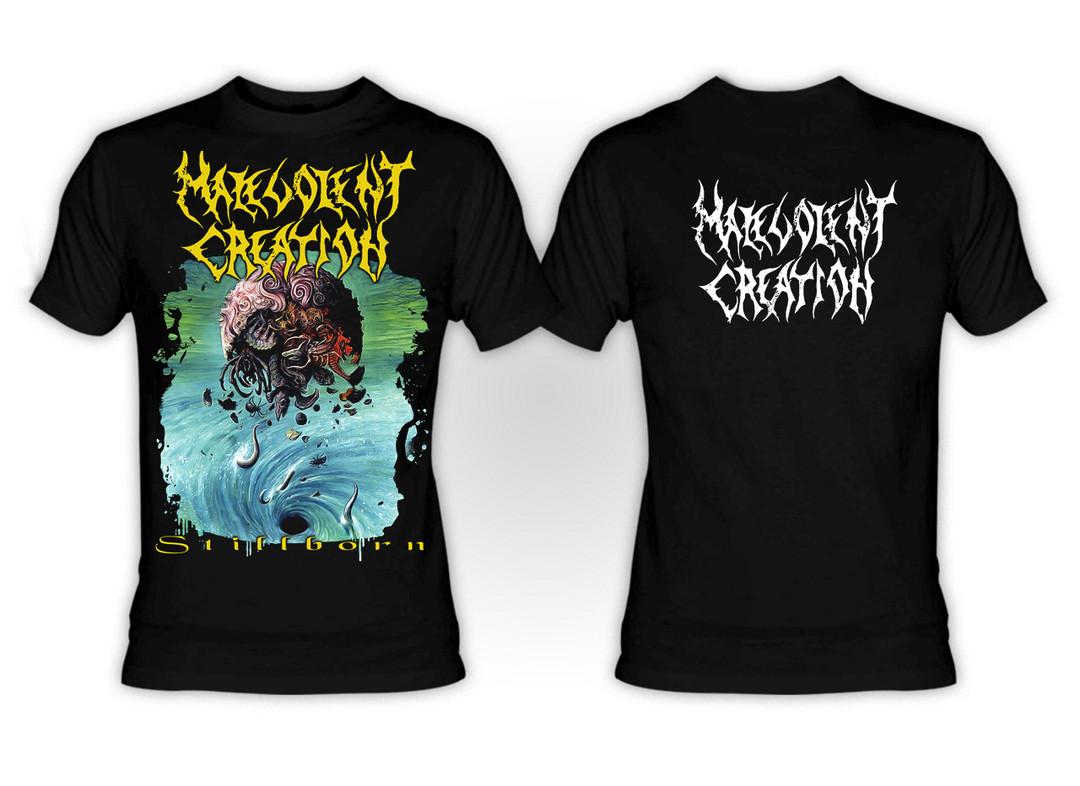 NEW Malevolent Creation /'Retribution/' T shirt