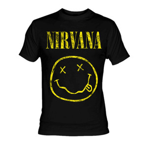 Nirvana Smiley T-Shirt