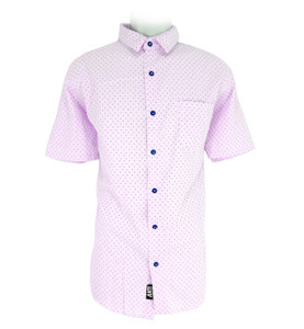 Pink Anchor Pattern Shirt