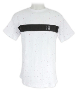 Antifashion - Tricolor Rhombus Pattern T-Shirt