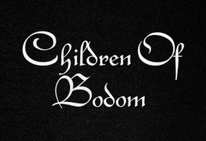 "Children of Bodom Logo 5x3"" Printed Patch"