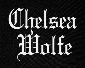 "Chelsea Wolfe Logo 5x4"" Printed Patch"