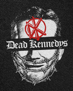 """Dead Kennedys Give Me Convenience or Give Me Death 12x16"""" Backpatch"""