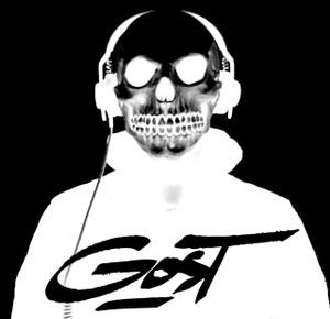 "Gost - Skull 4x4"" Printed Sticker"