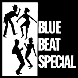 "Blue Beat Special 4x4"" Printed Sticker"