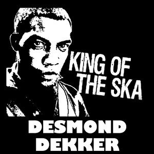 "Desmond Dekker - King of the Ska 4x4"" Printed Sticker"