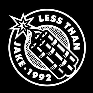 "Less Than Jake - 1992 4x4"" Printed Sticker"