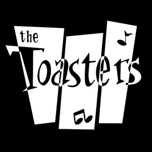 "The Toasters Logo 4x4"" Printed Sticker"