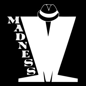 "Madness M Logo 4x4"" Printed Sticker"