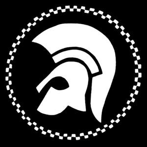 "Trojan Records 4x4"" Printed Sticker"