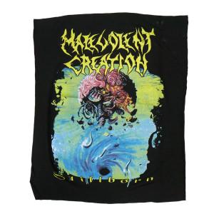Malevolent Creation - Stillborn Backpatch Misprinted