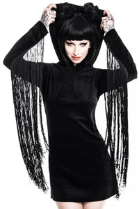 Killstar - Lone Wolf Fringe Dress