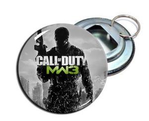 "Call Of Duty - MW3 2.25"" Metal Bottle Opener Keychain"