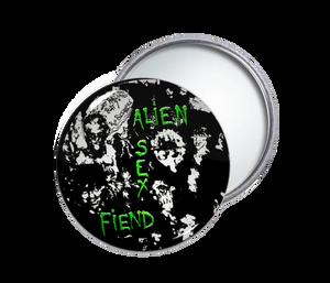 Alien Sex Fiend Round Pocket Mirror