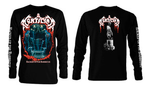 Mortician Hacked Up For Barbecue Long Sleeve T-Shirt