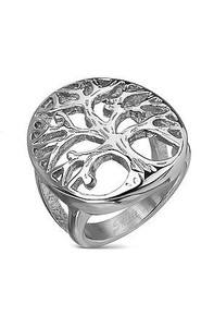 Tree of Life Stainless Steel Ring