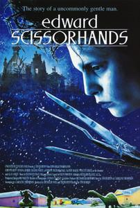 "Edward Scissorhands 24x36"" Poster"