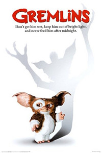 """Gremlins Movie Cover 24x36"""" Poster"""