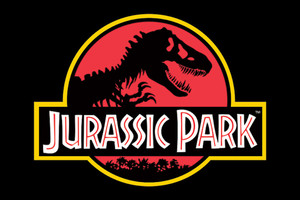 """Jurassic Park Logo 36x24"""" Poster"""