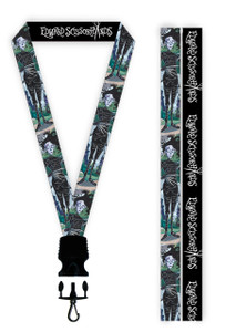 Edward Scissorhands Cartoon Lanyard